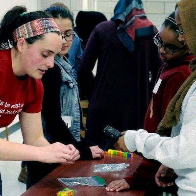 Girls Math & Science Day 2019- Learning about genome assembly with Legos